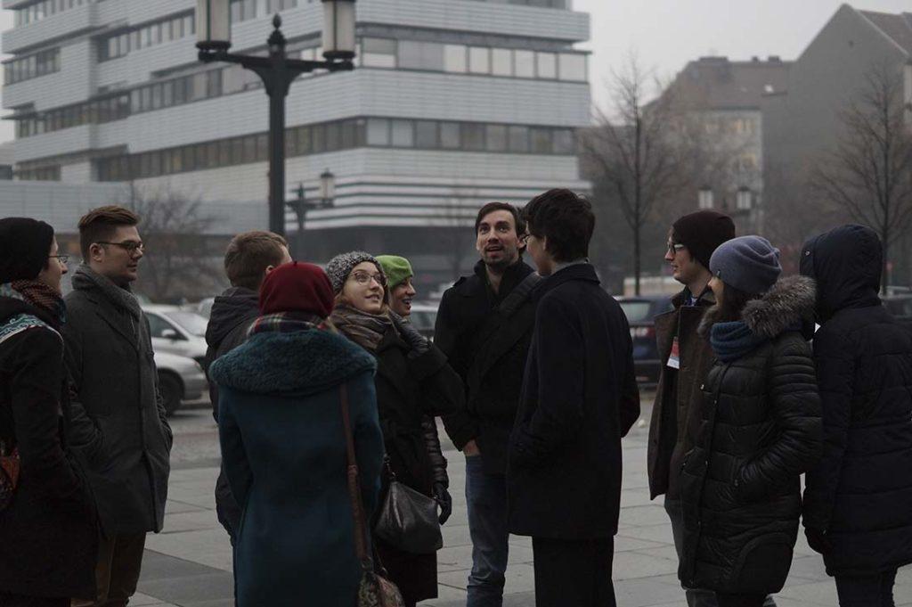 Экскурсия по кампусу Технического университета Берлина